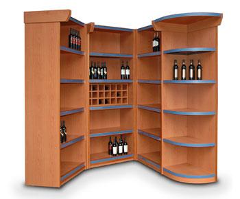 Muebles para vinos muebles para exhibicion y venta de vinos mueble para botellas esigo wall - Muebles para vino ...